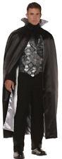 Morris Costumes Men's Skull Vest Set Satin Complete Outfit One Size. UR28588