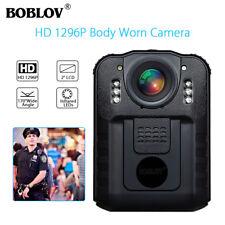 1296P Security Body Worn Camera Police Pocket Video Guard Recorder Night Vision