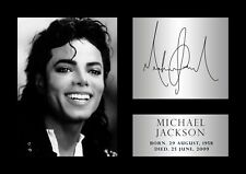 michael jackson poster - #50 - Tribute - Signed (copy) - A4 (297mm x 210mm)