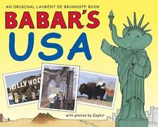 Babar's USA (Babar (Harry N. Abrams))-ExLibrary
