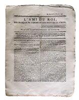 L'île Bourbon 1791 La Réunion Ami du Roi Journal Royaliste Cambon Bordeaux