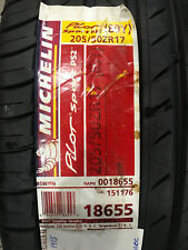 1 New 205 50 17 Michelin Pilot Sport PS2 Tire