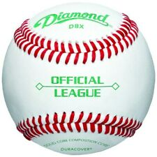 Diamond Official League Duracover DBX Baseballs (Dozen) - Good Practice Baseball