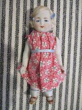 "4 "" Antique German All Bisque Doll P 15"