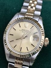 LADIES ROLEX OYSTER PERPETUAL DATEJUST 6917/3 BOX/PAPER/WARRANTY