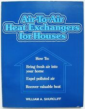 Air-to-air heat exchangers for houses fresh air in home mechanical engineer HVAC