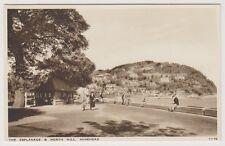 Somerset postcard - The Esplanade & North Hill, Minehead