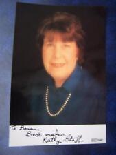 Kathy Staff  - autograph (BL2) 6 x 4 inch