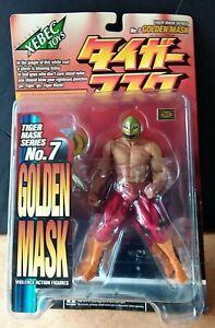 Tiger Mask Series #7 Golden Mask Violence Figure by Xebec Kaiyodo