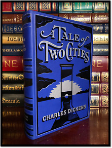 A Tale Of Two Cities New Leather Bound Deluxe Collectible with Ribbon Bookmark