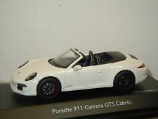 Porsche 911 991 Carrera GTS Cabrio - Schuco 1:43 in Box *37569