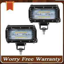5'' 72W LED Work Light Bar Combo Driving Lamp For   Truck Boat Off-road 6000K