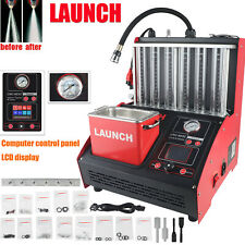 Launch CNC603C 6 Cylinder Ultrasonic Injector Cleaner Auto Test Computer Control