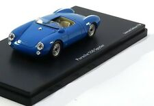 PORSCHE 550 SPYDER BLUE 1954 SCHUCO PRO.R43 08865 1/43 RESINE BLEU BLAU