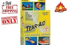 Tear Aid Kit Boat Tube Pool Toy Water Bed Repair Rip Air Mattress Fix Patch Tape