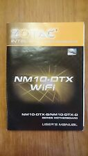 Zotac nm10-dtx-b, nm10-dtx-d, users manual, manual
