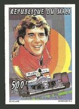 MALI 1995 SPORT FORMULA ONE CARS AYRTON SENNA ROTHMANS SMOKING IMPERF MNH