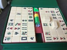 MAHJONG SET 146 pink cream Bakelite TILES NWOT 3.5 cm high x 2.7 wide x 2cm deep