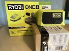 GENUINE OEM Ryobi PBP005 4Ah  One+ 18V Battery + Charger + Bluetooth Speaker NEW