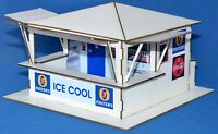 1:32 Scale Kit - 'Open 3-Sided' Bar Hut - for Scalextric/Other Layouts
