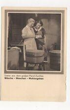 Persil Tonfilm Waesche Waschen Wohlergehen Germany Advert Postcard 350b