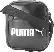 Puma Adultos Unisex Campus Portable PU Bolso Negro Osfa 075004 01