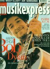 Musik Express 2001/06 (Mit CD) Bob Dylan