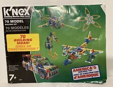 K'Nex 70 Model 705 Pieces and Manual Complete Knex rods, connectors, wheels