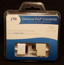 iFIT iPOD HANDS FREE UNIVERSAL CONNECTOR FITNESS CARDIO WORKOUT GOLDS NORDITRACK