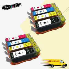 655 Ink Cartridges For HP 655 Deskjet 3525 4615 4625 5525 6525 With Chip 2 SET