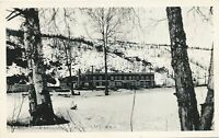 CURRY AK - Curry Hotel (Operated by Alaska Railroad) Real Photo Postcard rppc