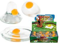 Splat Yolk Egg Vent Stress Reliever Relief Squeeze Toy Smash Water Rubber Ball