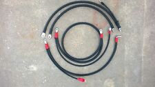 CHEVROLET GMC 6.5L TURBO DIESEL 2/0 BATTERY CABLES