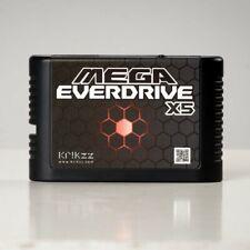 Mega EverDrive X5 Sega Genesis Master System 32X Drive + SD Card OFFICIAL KRIKzz