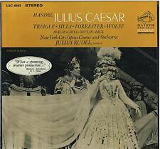 Handel: Julius Caesar (Giulio Cesare) / Rudel, Treigle, Sills, Forrester - LP