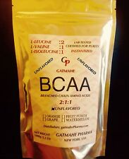 100g (3.52oz) 20 SERVINGS BCAA 2:1:1 BRANCHED CHAIN AMINO KOSHER PURE POWDER