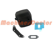 Muffler WT Bracket Support Shield Gasket For Husqvarna 362 365 371 372 372XP New
