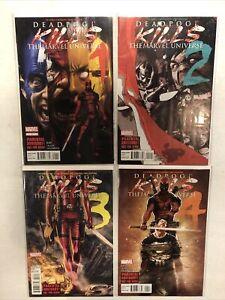 complete set deadpool kills the marvel universe #1-4 1st prints