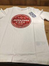 Jack & Jones Boys white t shirt (sizes 9-16)