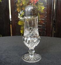 "Vintage WATERFORD GLASS Lismore Pattern Large 8"" SUGAR SHAKER  / MUFFINEER"