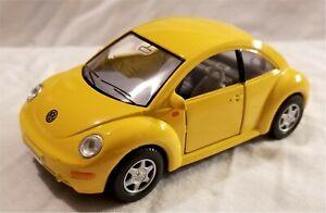 Kinsmart - 1:3 2 Maquette Volkswagen Neuf Scarabée Jaune (BBKT5028DY)