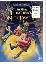 Walt Disney Pictures The Hunchback of Notre Dame II (DVD, 2002) NEW