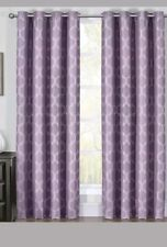 """Blackout Curtain Panels 108"""" Alana Jacquard Triple Pass Thermal Insulated (Pair)"""