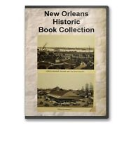 New Orleans, LA Louisiana History Culture Genealogy 36 Book Set - D25