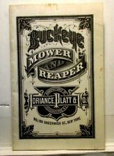 Buckeye Mower Reaper, Sales and Information Book, Adriance, Platt & Co.