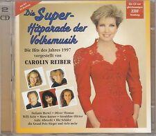 CAROLIN REIBER Die Super-Hitparade der Volksmusik 1997 2-CD