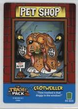 2011 The Trash Pack Trading Card Game Base #023 Grotweiller Gaming 1t5