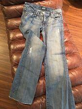 Rare Rock & Republic jeans w rhinestone insignia on back pockets !! sz 28