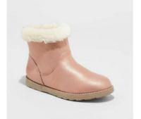 Cat & Jack Girls' Haiden Pink Winter Boots Size 5