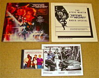 STEVE MARTIN/KEVIN KLEIN SIGNED GrandCanyonPhoto+CD/Pennies From Heaven LP&Promo